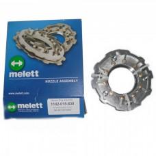 Геометрия турбины GT1544V KIA CEED / CERATO / RIO 1.5 CRDI melett