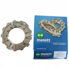 Геометрия турбины GT2052V/GT2056V/GT2256V/GT2260V/GT2360V/GT2556V melett
